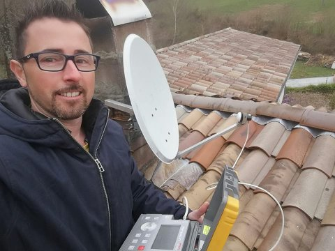 REPARATION TV VIA DEPANNAGE SATELLITE A LA COTE SAINT ANDRE