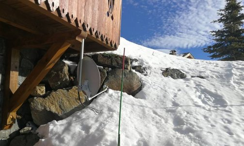 antenne chalet station